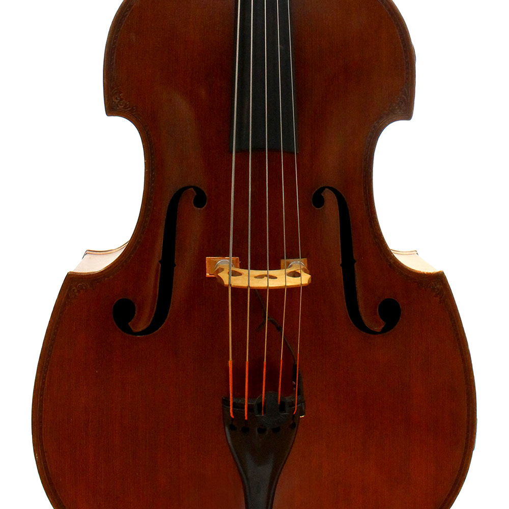 sold 5 string german double bass by e m pollmann thwaites. Black Bedroom Furniture Sets. Home Design Ideas
